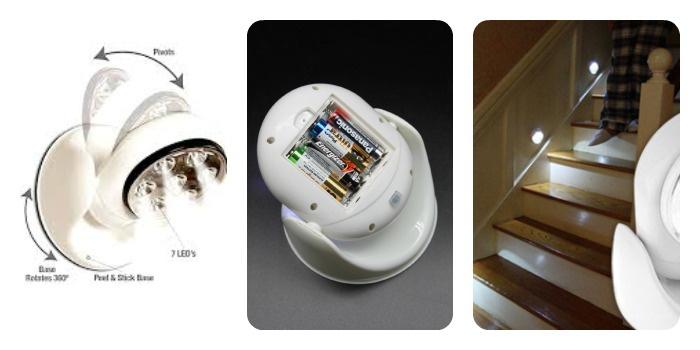 Светильник светодиодный на батарейках: преимущества
