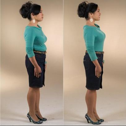 утягивающие шорты фото до и после
