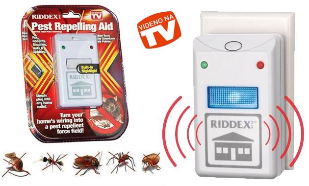 Отпугиватель pest repelling aid riddex ультразвукавой отпугиватель грызунов