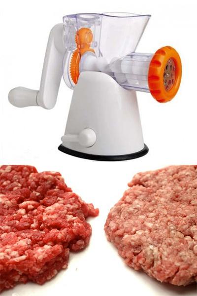 Механическая ручная мясорубка: преимущества