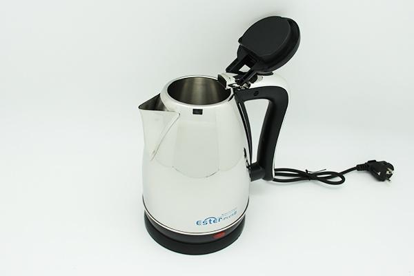 Чайник электрический металлический ET-9117