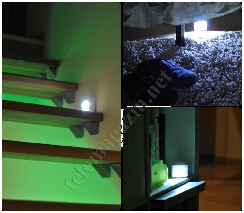 Умный светильник с датчиком движения и освещенности варианты установки