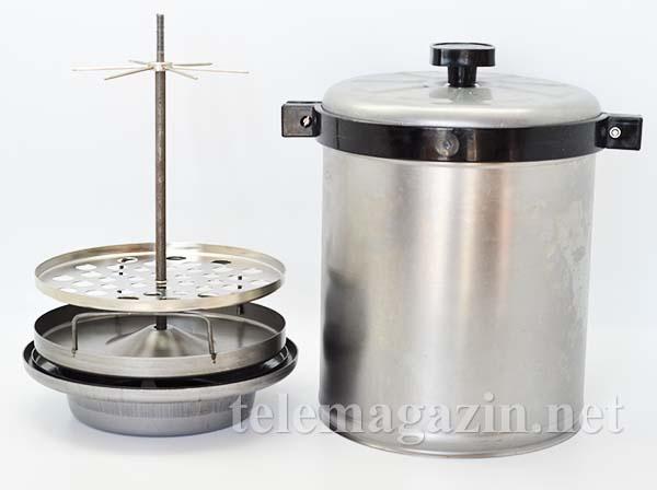 Купить коптильни горячего копчения в самаре самогонный аппарат из электроскороварки