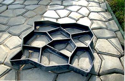 бетонная садовая дорожка своими руками