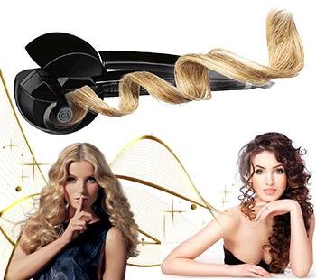 щипцы для завивки волос крупные локоны
